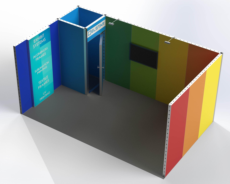 easy frames 3 x 5 + lightbox